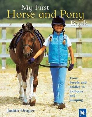 My First Horse And Pony Book By Draper, Judith